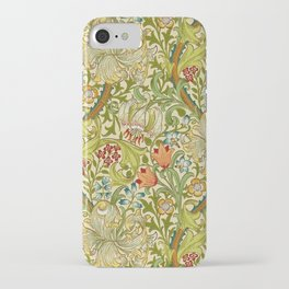 William Morris Golden Lily Vintage Pre-Raphaelite Floral iPhone Case