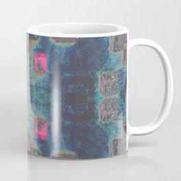 Toppled Ceramic Tiling Infared Style Coffee Mug