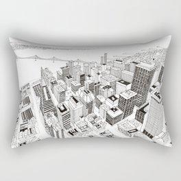 San Francisco 2 Rectangular Pillow