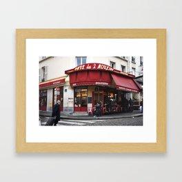Café des 2 Moulins Framed Art Print