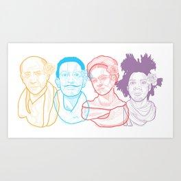 The Crew Art Print