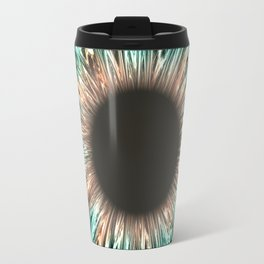 The Blue-Green Iris Travel Mug