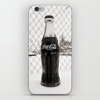 coke iPhone & iPod Skins featuring Frosty Coke by Vorona Photography