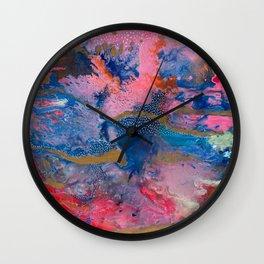 NEOPOLITAN SKIES Wall Clock