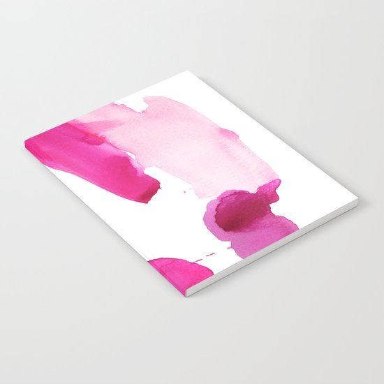 Pink Abstract I Notebook