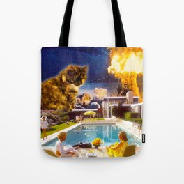 Midcentury Radioactive Cuddle Unit 5 Tote Bag