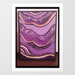 this is called Purple Fusion  Art Print