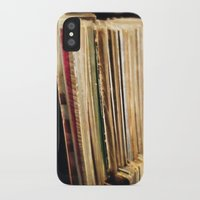 vinyl iPhone & iPod Cases featuring Vinyl by strentse