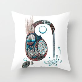 Gestazione Throw Pillow