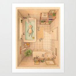 Another Bath Art Print