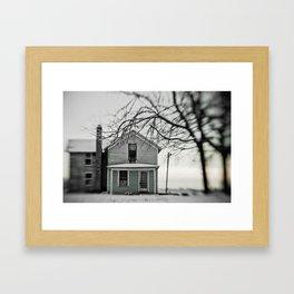winter's grip Framed Art Print