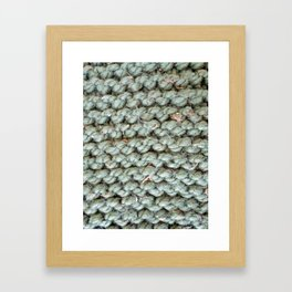 Wool 8 Framed Art Print