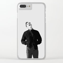 Aaron Tveit 17 Clear iPhone Case