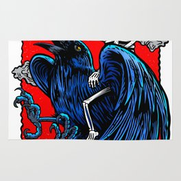 In to the crow Rug