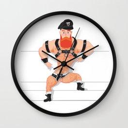 Tom Caralhactus Wall Clock