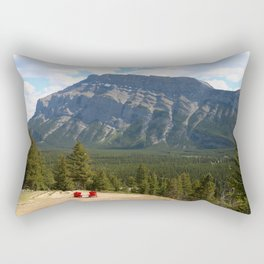 Enjoying The Beautiful View Rectangular Pillow