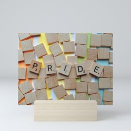 LGBT Pride Tiles Mini Art Print