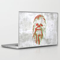 chewbacca Laptop & iPad Skins featuring Chewbacca by mangen