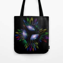 Abstract perfection - Light is energy Tote Bag