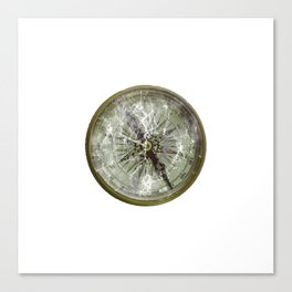 Broken Compass Canvas Print
