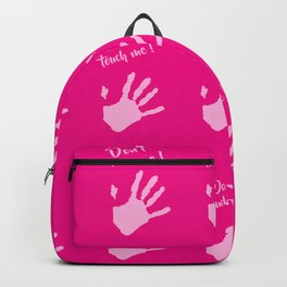 Don't touch me ! Backpack