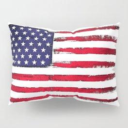 Vintage American flag Pillow Sham