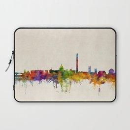 Washington DC Skyline Cityscpae Laptop Sleeve
