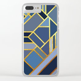 Art Deco Drops Of Jupiter Clear iPhone Case