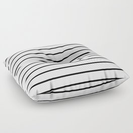 Minimalist Stripes Floor Pillow