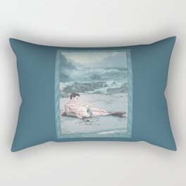 Aquamarine Rectangular Pillow
