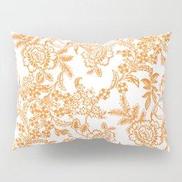Morning Tea Reversed Pillow Sham