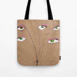 My eyes Tote Bag