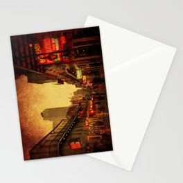 Bourbon Street Grunge Stationery Cards