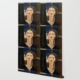 """Amedeo Modigliani """"Antonia"""" Wallpaper"""