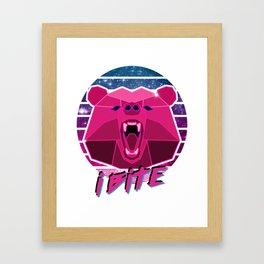 iBite Framed Art Print