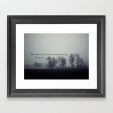 Your Mercies are New  Framed Art Print