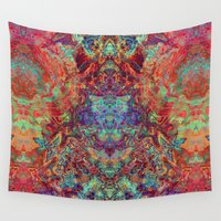 supreme Wall Tapestries featuring Supreme by GypsYonic