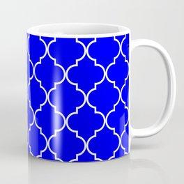 Quatrefoil - Blue Coffee Mug