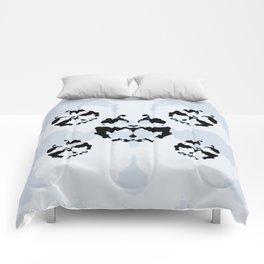 Rorschach inkblot Comforters