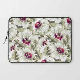New Zealand Hibiscus Floral Print (Day) Laptop Sleeve