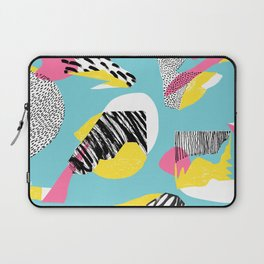 Modern living with lagoon view Laptop Sleeve