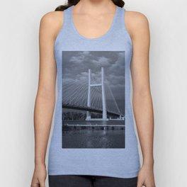 Bridge over Mississippi River Unisex Tank Top