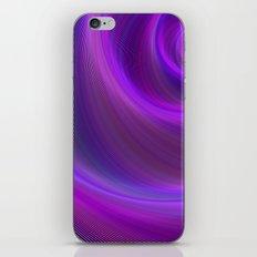 Purple night storm iPhone & iPod Skin