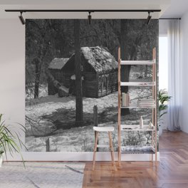Nestled in the woods... Wall Mural