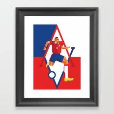 AV23 | La Roja Framed Art Print