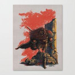 Romulus Triumphant Canvas Print