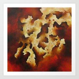 Biomorphic Untitled 4 Art Print