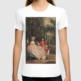 Thomas Gainsborough - Conversation in a Park T-shirt