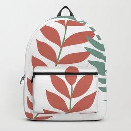 Minimal Boho Botanical Backpack