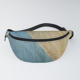 Eucalypus Turquoise Wood Fanny Pack